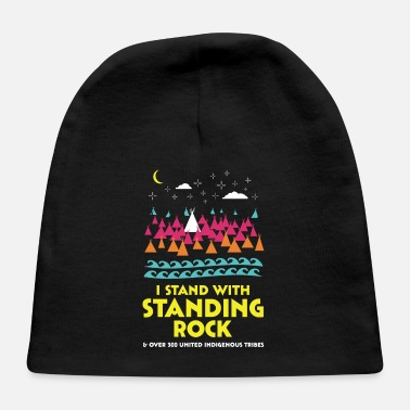 Stand Stand With Standing Rock Shirt - Baby Cap
