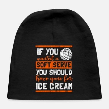 Volleyball Soft Serve Shirt as a gift for volleyball - soft serve - Baby Cap