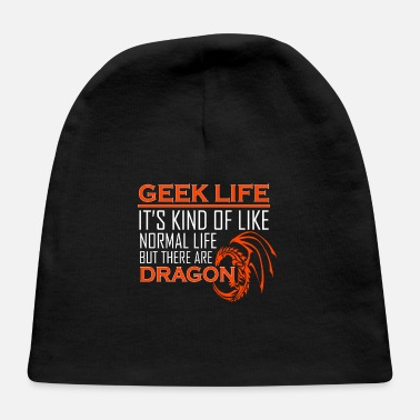 Role Playing Game Role Playing Games Lover Kind Life Dragon - Baby Cap