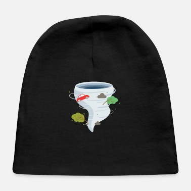Severe Weather Awesome Tornado Storm Chaser Severe Weather Lover - Baby Cap
