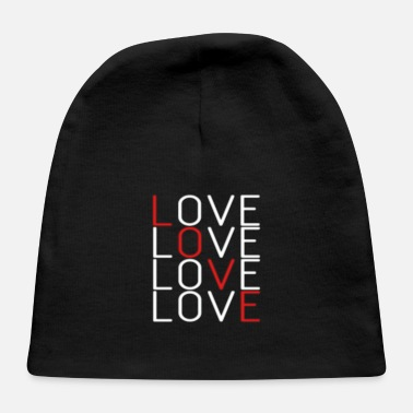 Lovely Love Love Love Love - Baby Cap
