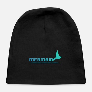 Fin Mermaid with fins - Baby Cap