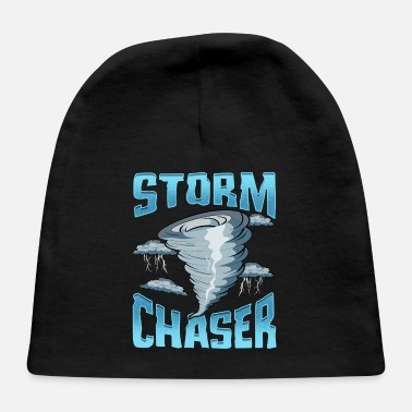 Severe Weather Cute Storm Chaser Severe Weather Tornado Obsessed - Baby Cap