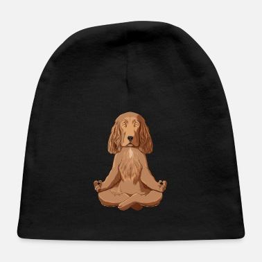 Cocker Spaniel T Yoga Cocker Spaniel - Baby Cap