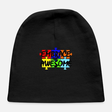 Embrace Autism Autism Embrace the Awesome - Baby Cap