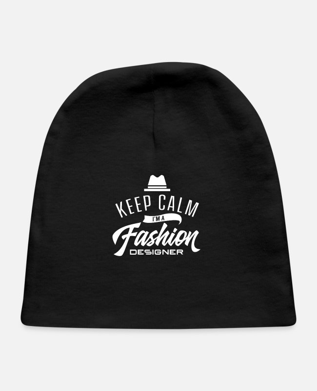 Design Baby Hats - Designing Fashion Designer - Baby Cap black