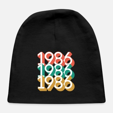 Year Of Birth 1986 - Year of birth - Baby Cap