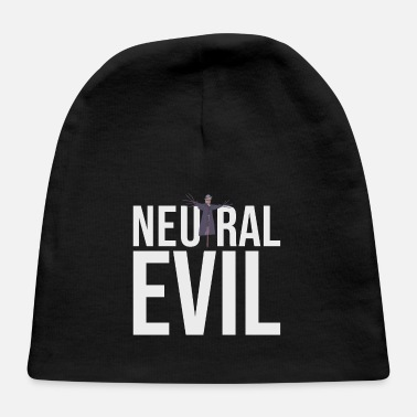 Neutral Evil - Scarecrow Graphic Text - Roleplay - Baby Cap