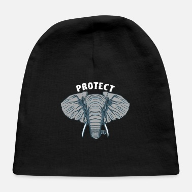 Protection Of The Protect Elephants - Baby Cap