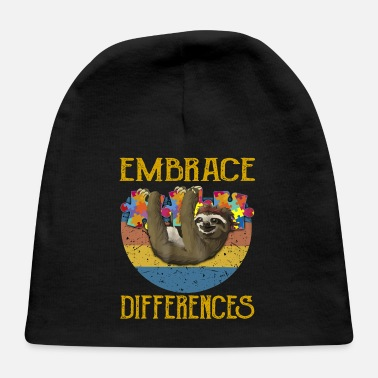 Embrace Autism autism Embrace differences - Baby Cap