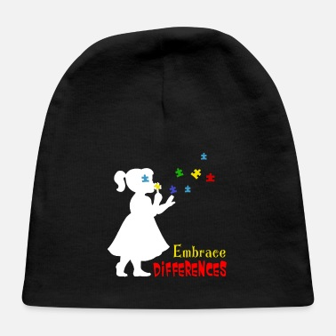 Embrace Autism autism embrace differences support - Baby Cap