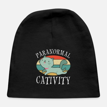 Paranormal Paranormal Cativity ghost hunter paranormal - Baby Cap