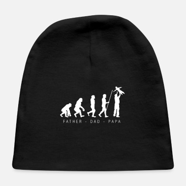 Father To Be Father Evolution Dad Father´s Day Papa Husband - Baby Cap