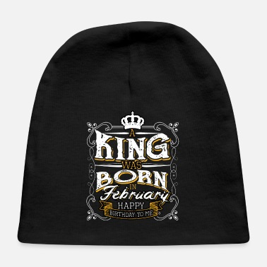 Bursdag February Year Of Birth Born In Gift Bursdag - Baby Cap
