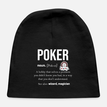 Rummy Poker Casino Hold'em Of Spades Poker Face Bluff - Baby Cap