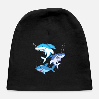 Ocean Animals Shark Ocean Animals - Baby Cap