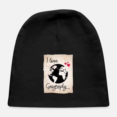 Geographic I Love Geography - Baby Cap