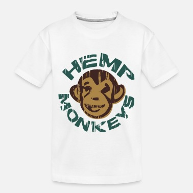 Hemp Hemp monkeys - Toddler Organic T-Shirt