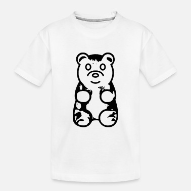 Bear Gummy Bear - Toddler Organic T-Shirt
