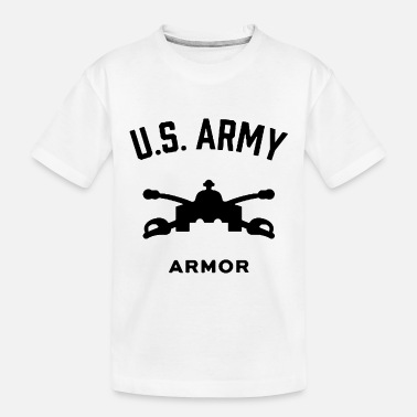 Schland US Army Armor - Toddler Organic T-Shirt