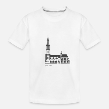 Freiburg Freiburg Minster City Icon - Toddler Organic T-Shirt