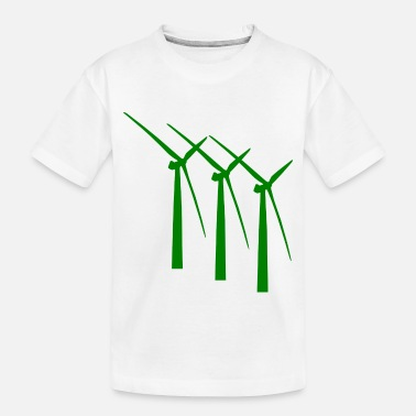 Wind windmill windmuehle wind turbine windrad41 - Toddler Organic T-Shirt