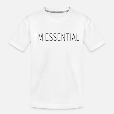 Social I'm Essential - Toddler Organic T-Shirt