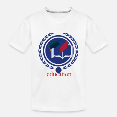 Education Culture Education - Toddler Organic T-Shirt