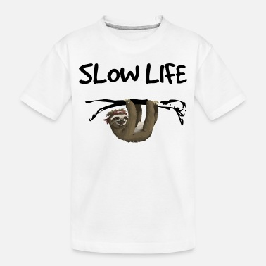 Easy Slow Life - faulty - Toddler Organic T-Shirt