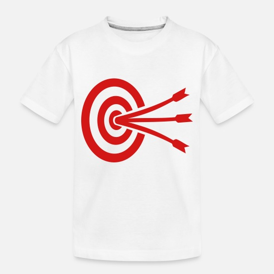 Sport Baby Clothing - Archery - Toddler Organic T-Shirt white