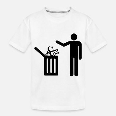 Religion religion - garbage - Toddler Organic T-Shirt