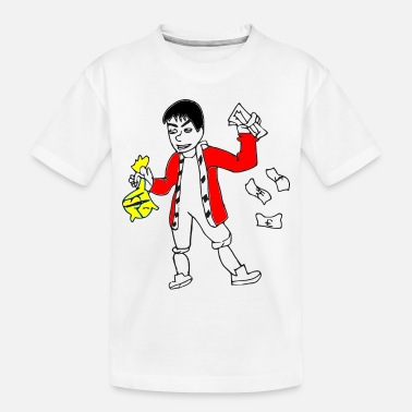 Wealthy Wealthy man Rich Man - Toddler Organic T-Shirt