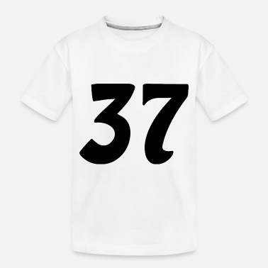 37 Number 37 number - Toddler Organic T-Shirt