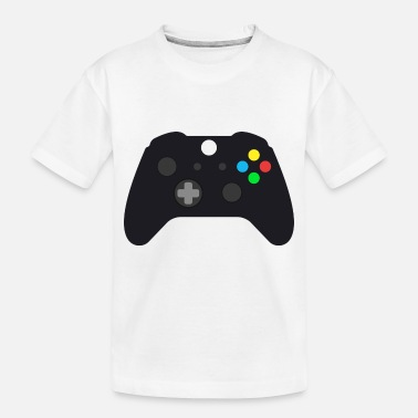 Controller Video Gaming Controller for Gamers - Toddler Organic T-Shirt