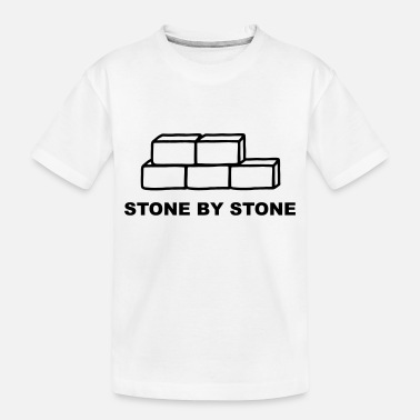 Stones Stone by Stone - Toddler Organic T-Shirt