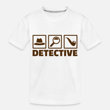 Detective Detective - Toddler Organic T-Shirt