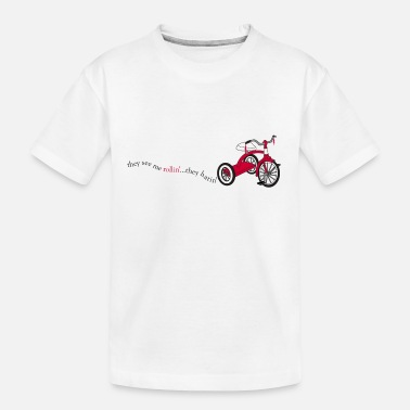 Tricycle Rollin - Toddler Organic T-Shirt