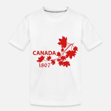 Leaf SHOULDER MAPLE LEAF canada BRANCH.ai - Toddler Organic T-Shirt