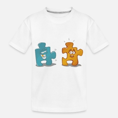 Puzzle Puzzle - Toddler Organic T-Shirt