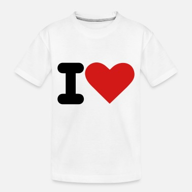 I Heart i heart - Toddler Organic T-Shirt