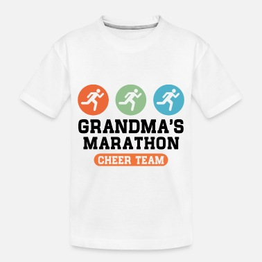 Cheer marathon grandma - Toddler Organic T-Shirt