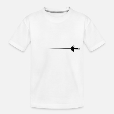Parry fencing fechten floret sword parry samurai11 - Toddler Organic T-Shirt