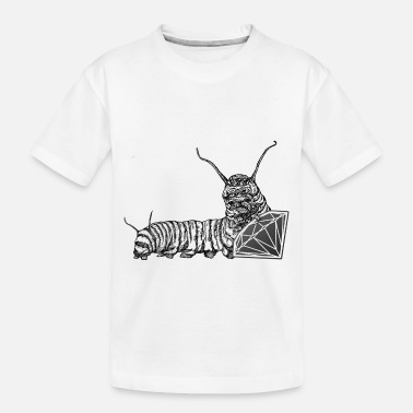 Caterpillar caterpillar - Toddler Organic T-Shirt