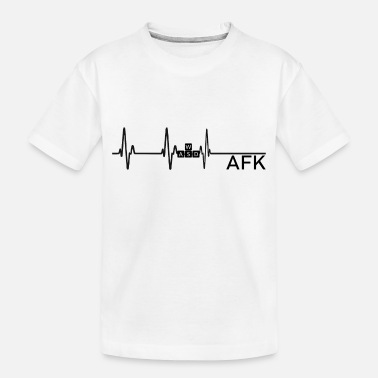Going AFK is like dying - Toddler Organic T-Shirt