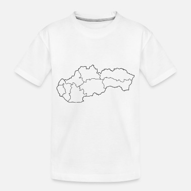 Region Regions of Slovakia - Toddler Organic T-Shirt