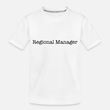 Region Regional Manager - Toddler Organic T-Shirt