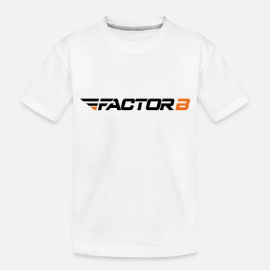 Factor B FBW Logo Colour HR - Toddler Organic T-Shirt