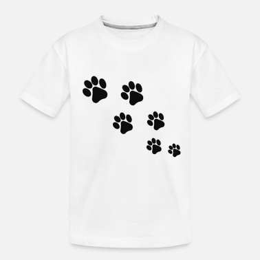 Paw Paw Prints - Toddler Organic T-Shirt