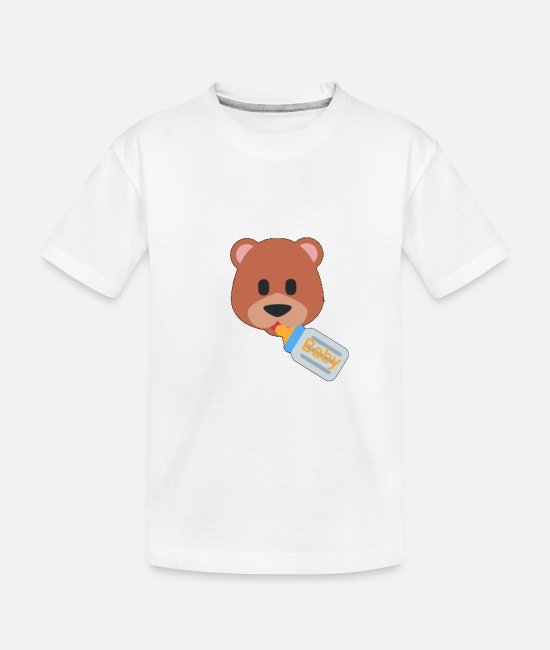 Honey Baby T-Shirts - Baby - Toddler Organic T-Shirt white
