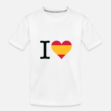 Quijote I Love Spain - Toddler Organic T-Shirt